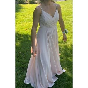 Lulus formal light pink dress